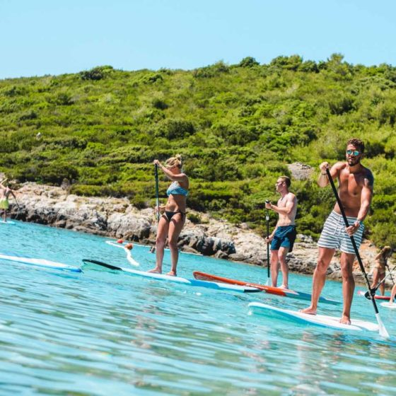 Sup school - Stand Up Paddle Vis